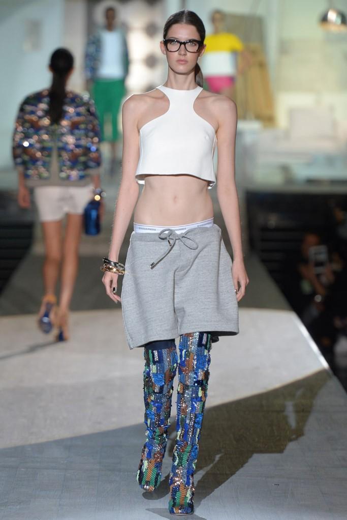 Dsquared Spring 2015 Milan Fashion Show