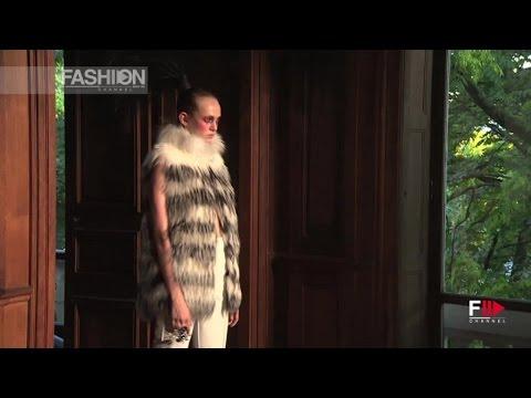 Video of the Serkan Cura Fall 2015 Haute Couture Show